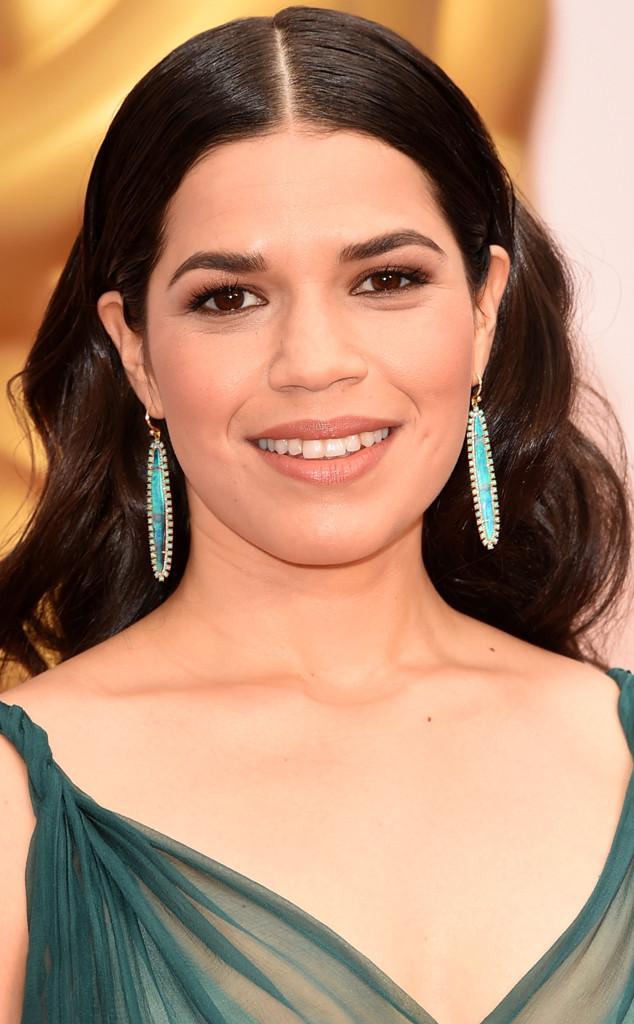 America Ferrera, Beauty, Earrings, 2015 Academy Awards