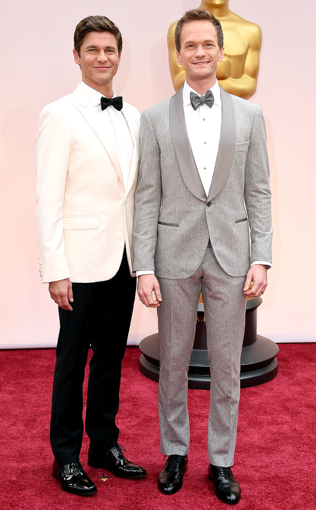 Neil Patrick Harris,  David Burtka, 2015 Academy Awards, Couples