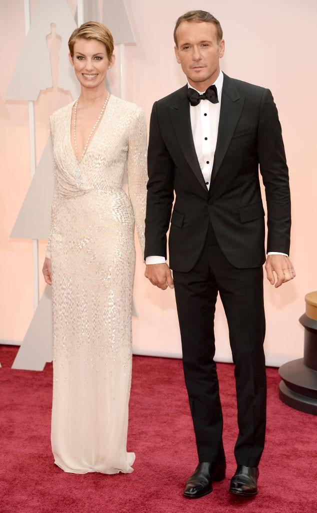 Faith Hill Tim McGraw 2015 Academy Awards Couples