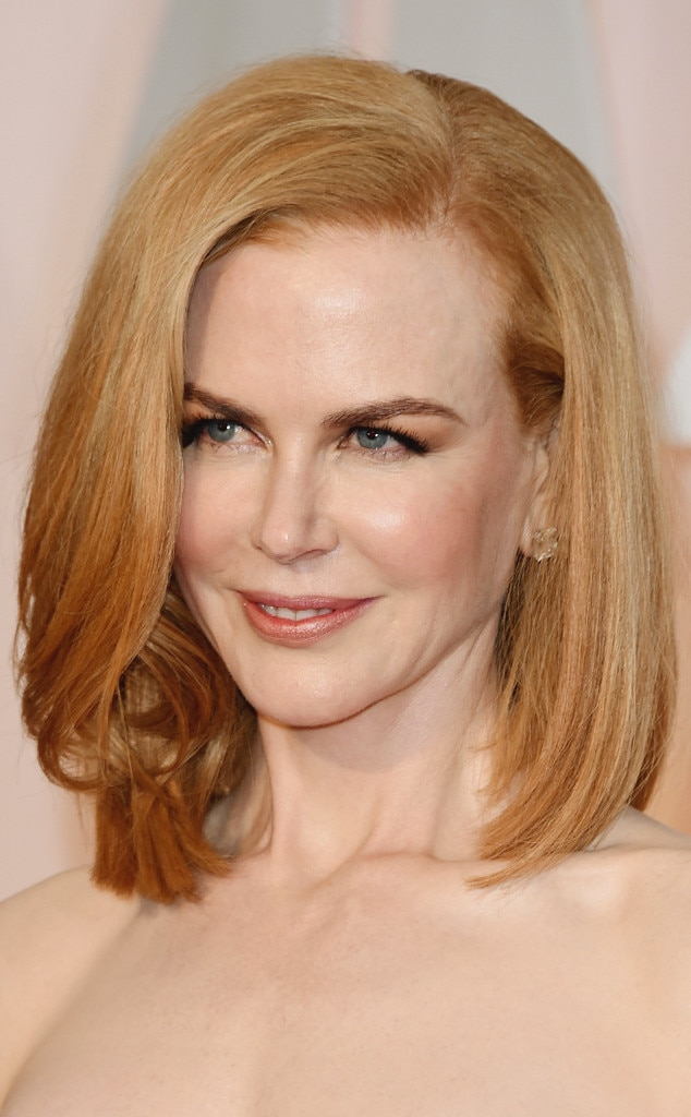 Nicole Kidman, 2015 Academy Awards, Hair