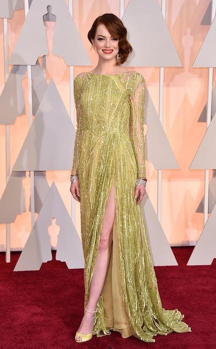 Emma Stone, 2015 Academy Awards