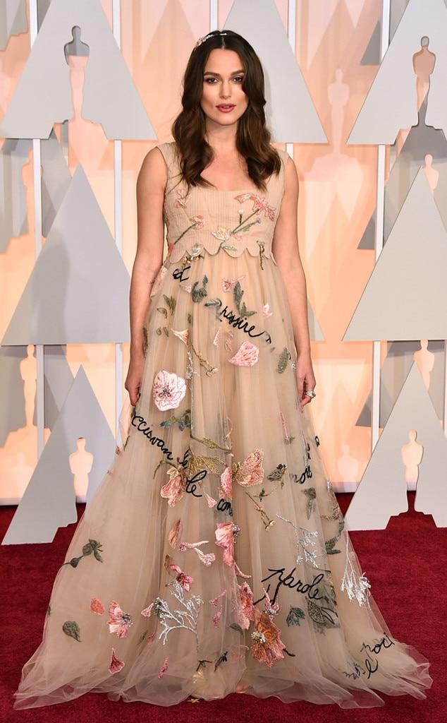Keira Knightley, 2015 Academy Awards