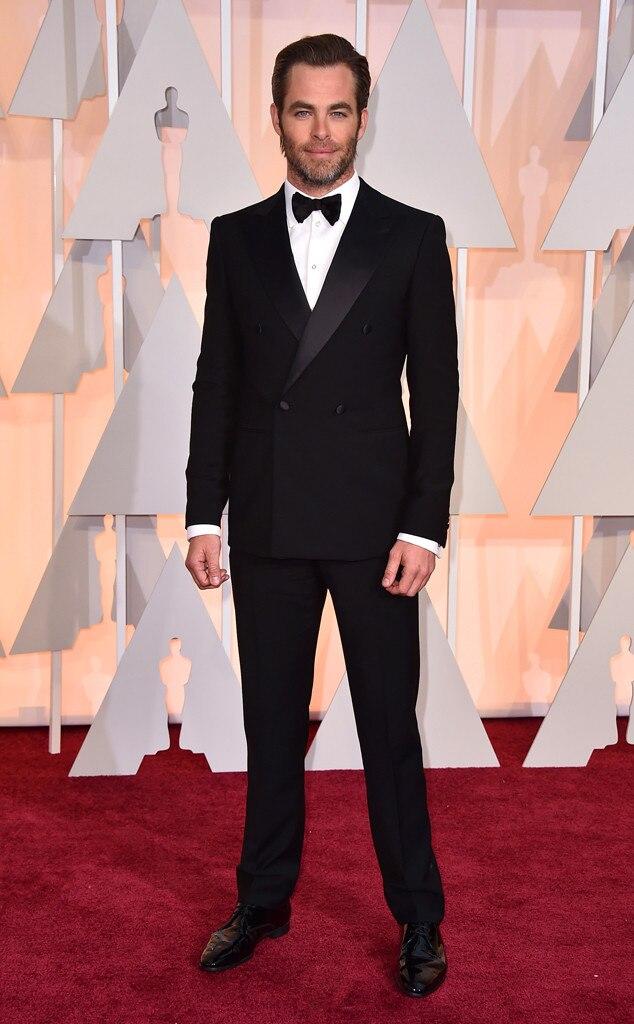 Chris Pine, 2015 Academy Awards