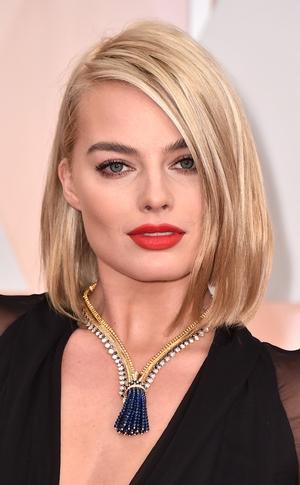 Margot Robbie, 2015 Academy Awards Oscars, Beauty, Hair