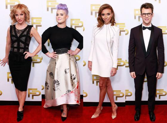 Fashion Police, Oscars Set