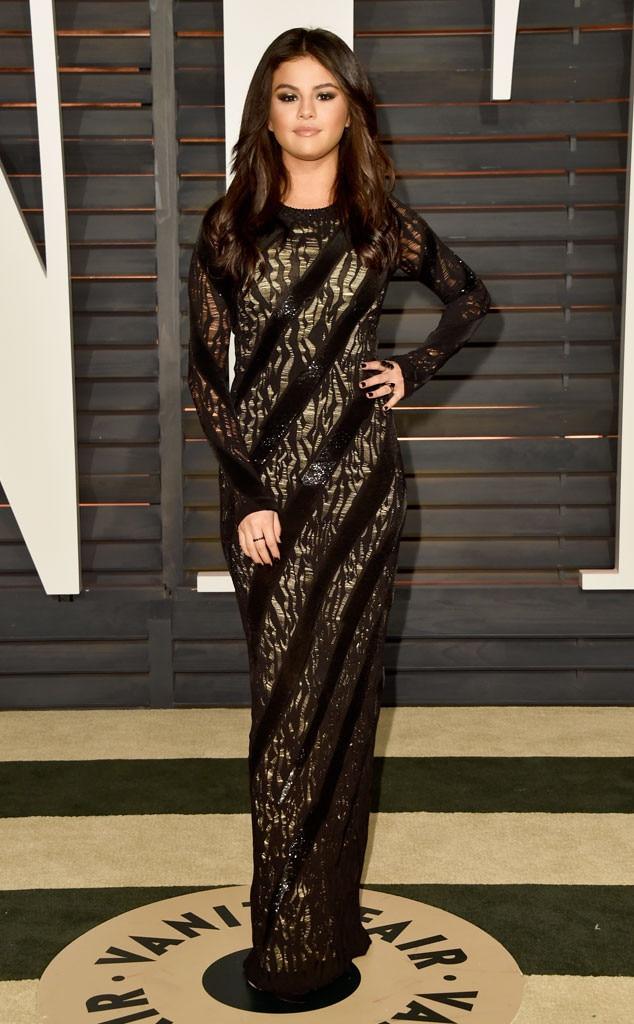 Star In Stripes From Selena Gomezs Best Looks