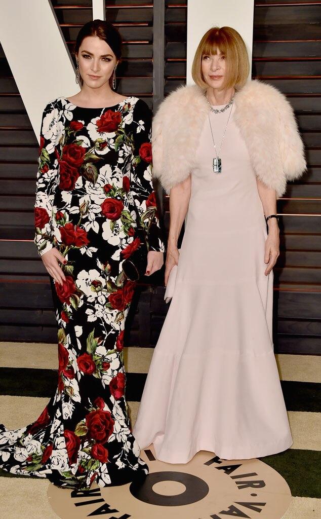 Anna Wintour, Bee Shaffer, Vanity Fair Oscar Party
