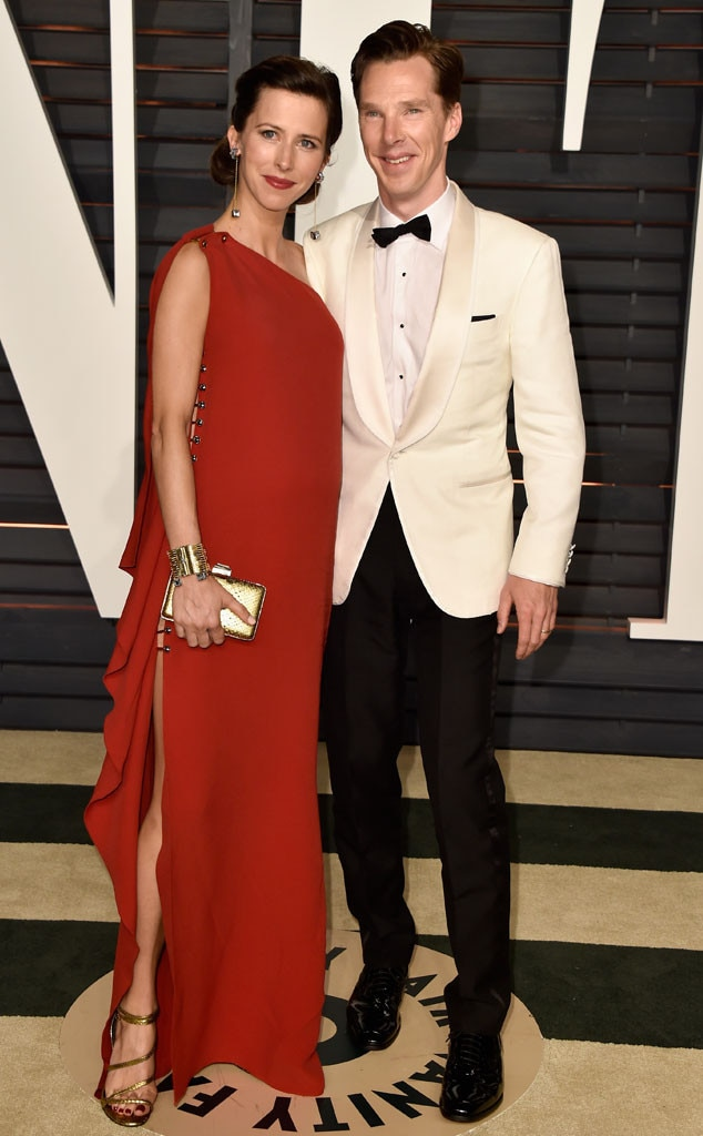 Sophie Hunter, Benedict Cumberbatch, Vanity Fair Oscar Party