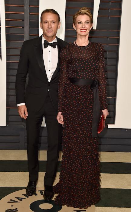 Tim McGraw, Faith Hill, Vanity Fair Oscar Party