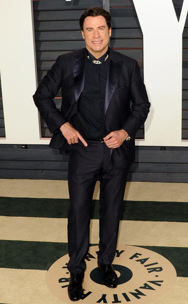John Travolta, Vanity Fair Oscar Party