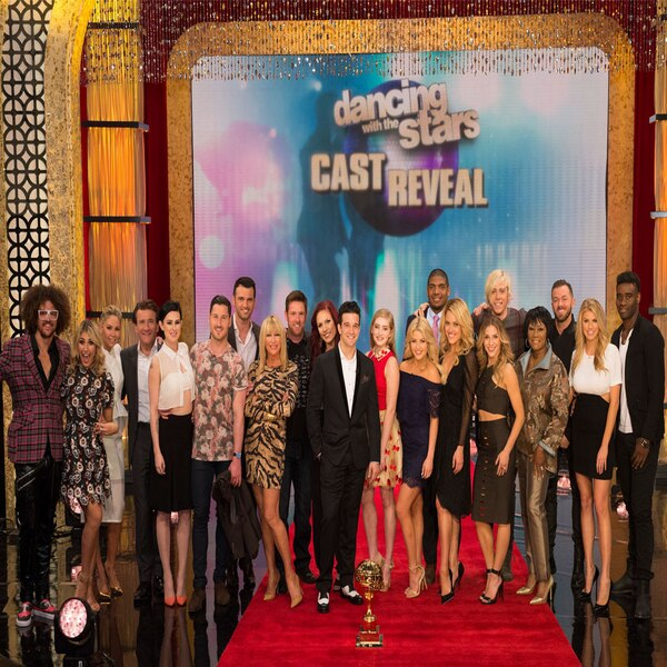 New celebrity cast of dancing with the stars