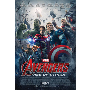 Avengers: Age of Ultron, Poster