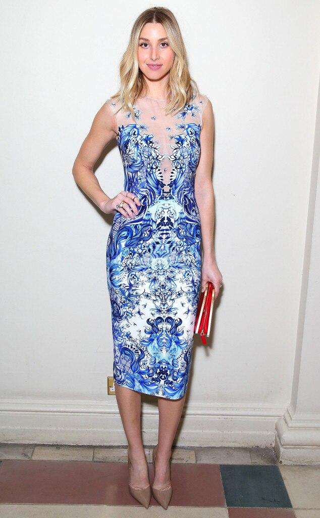 Whitney Port London Fashion Week