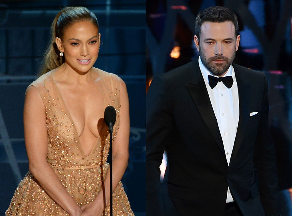 Jennifer Lopez, Ben Affleck, 2015 Academy Awards