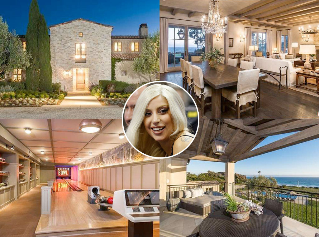 Lady Gaga, Malibu Home