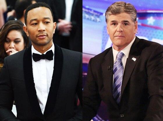 John Legend, Sean Hannity