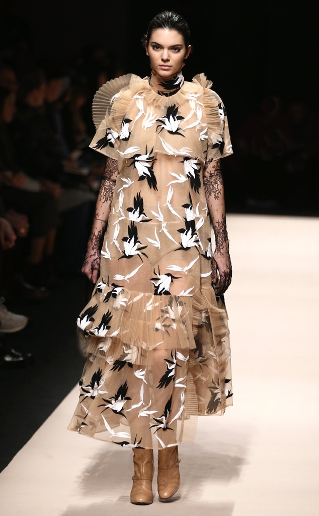 Kendall Jenner Takes Milan Fashion Week by Storm—See Her ...