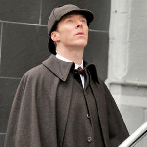Benedict Cumberbatch, Filming Sherlock
