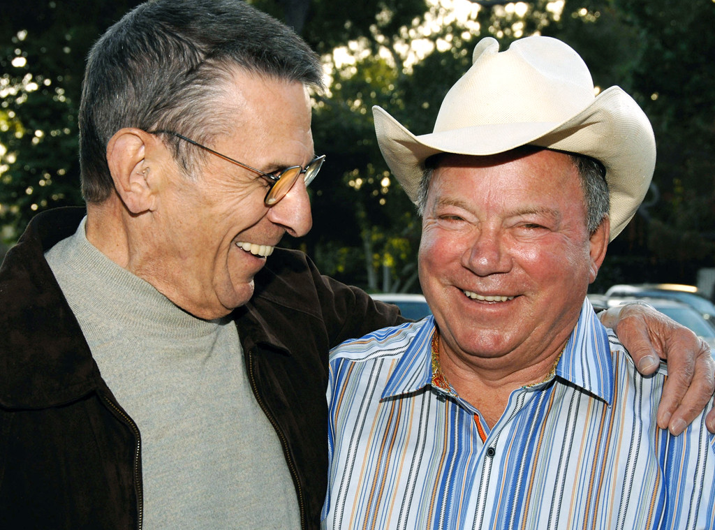 Leonard Nimoy, William Shatner, Famous Friends