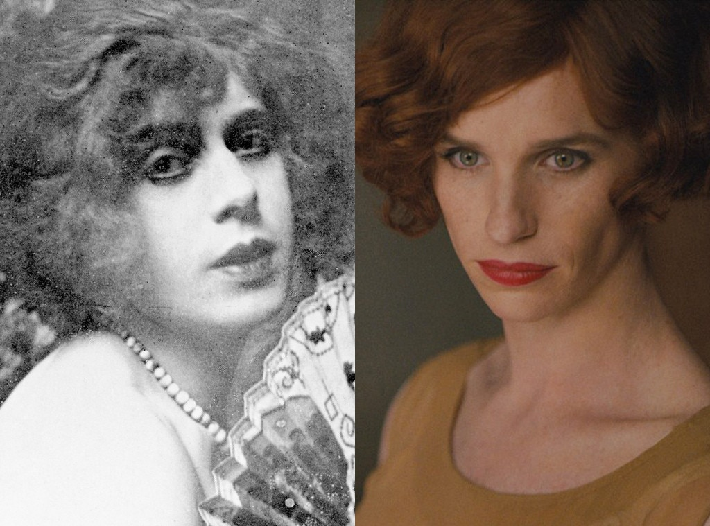 Eddie Redmayne as Lili Elbe from Stars Playing Real People ...: http://www.eonline.com/photos/1126/stars-playing-real-people/468770