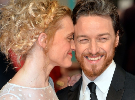 James McAvoy, Anne-Marie Duff, British Academy Film Award