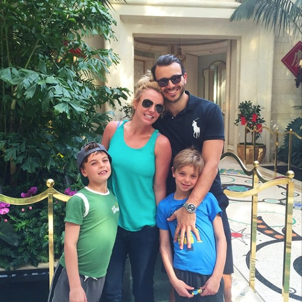 Britney Spears Poses With Boyfriend Charlie Ebersol and ... Britney Spears Instagram