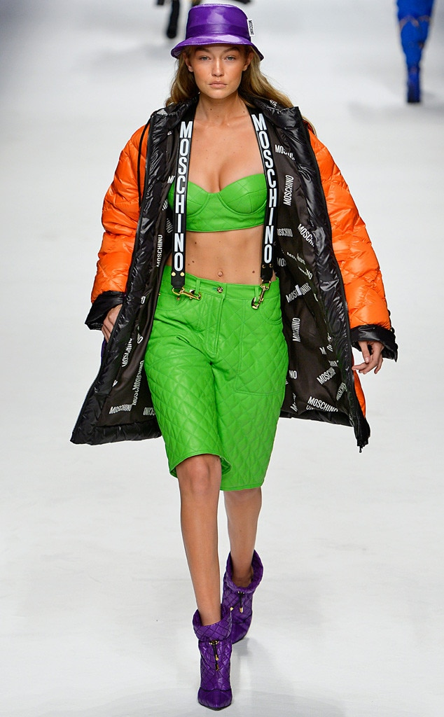 Stars at milan fashion week fall 2015 photos for Gigi hadid fashion week