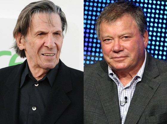 William Shatner, Leonard Nimoy