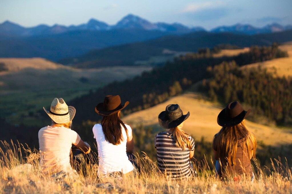 World Best Girl Getaways, Galentines Day, Montana