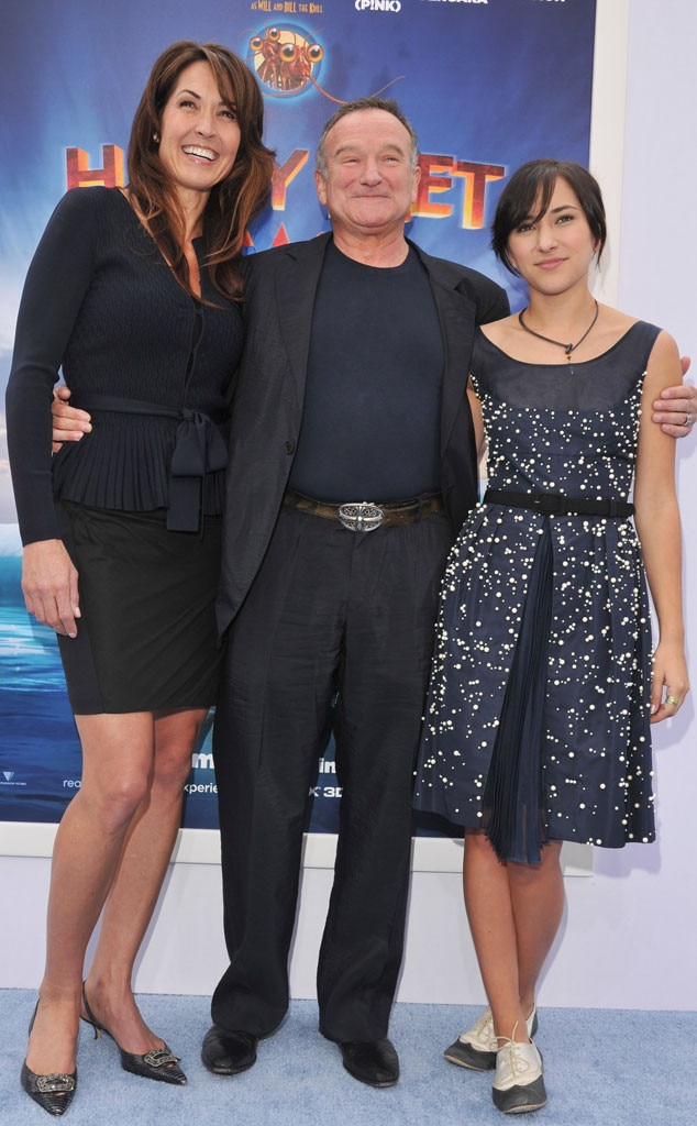 Susan Schneider, Robin Williams, Zelda Williams