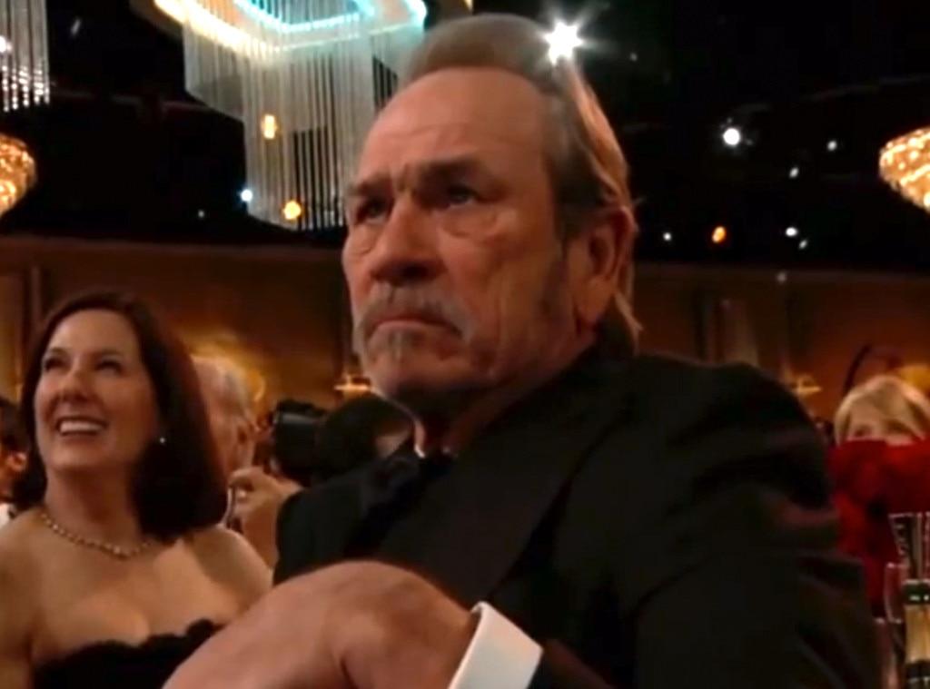 Award Show Reactions,  Tommy Lee Jones