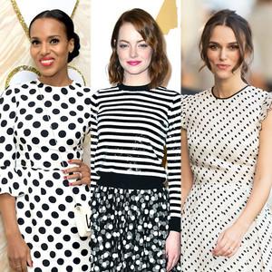 Monochrome Dots, Fashion Trends