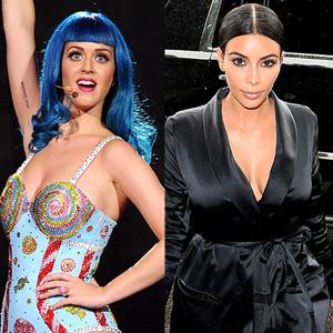 Kim Kardashian, Katy Perry