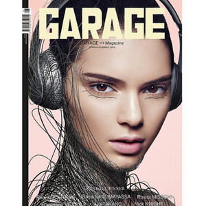 Kendall jenner covers garage magazine see the bizarre
