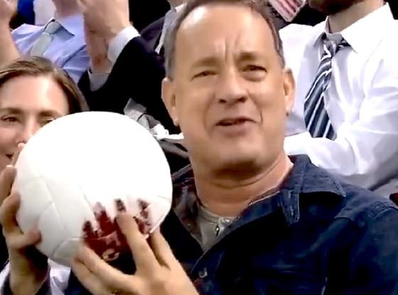 Tom Hanks, Wilson, New York Rangers