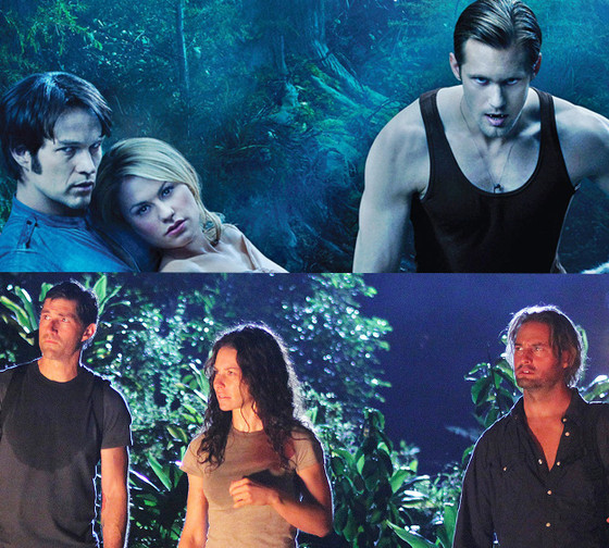TV Love Triangles, True Blood, Lost