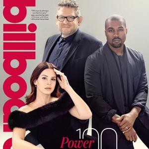 Lana Del Rey, Kanye West, Lucian Grange, Billboard 2015 Power 100