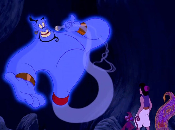 Robin Williams, Aladdin