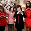 Sheryl Underwood, Sara Gilbert, Sharon Osbourne, Aisha Tyler and Julie Chen