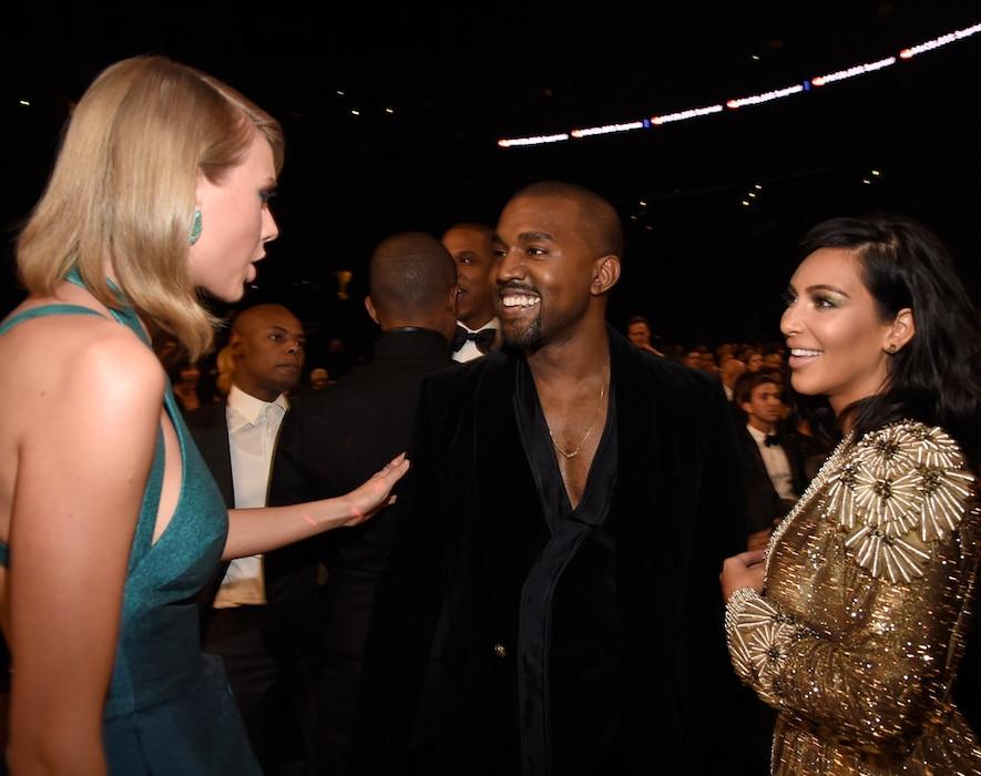 Taylor Swift, Kanye West, Kim Kardashian West, Grammy Awards