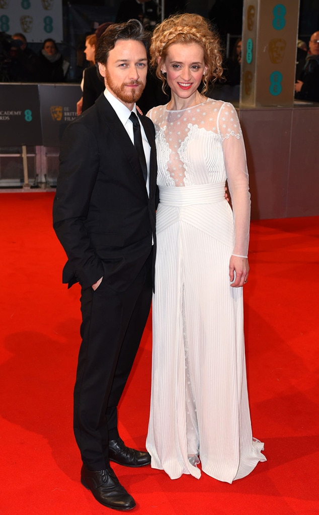 James McAvoy, Anne Marie Duff, British Academy Film Awards