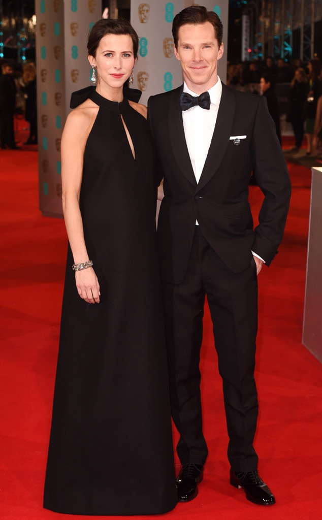 Benedict Cumberbatch, Sophie Hunter, British Academy Film Awards
