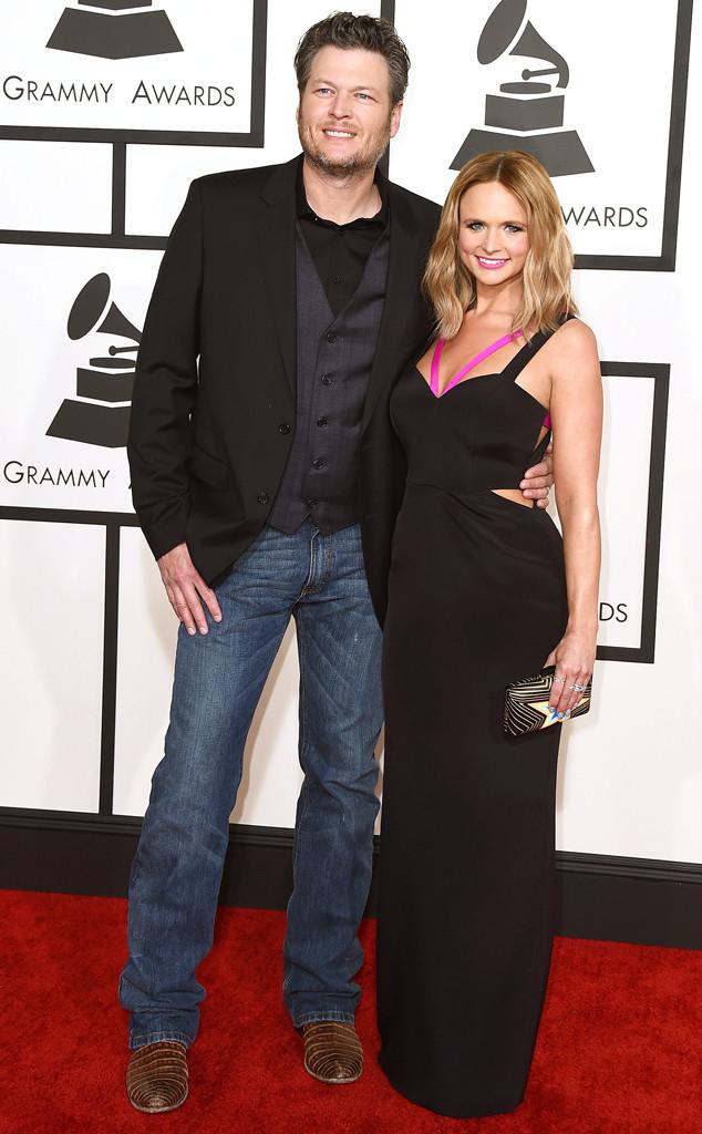 Blake Shelton, Miranda Lambert, Grammy Awards, Couples