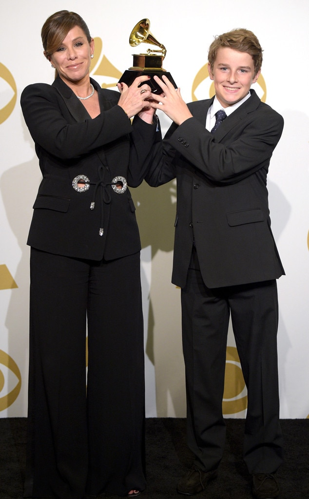 Melissa Rivers, Cooper Endicott, Grammy Awards