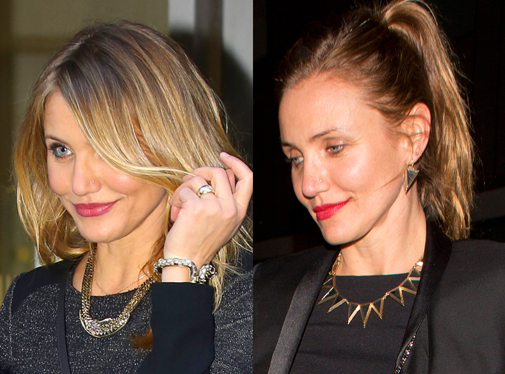 Cameron Diaz from Celebrities' Changing Hair Color | E ...