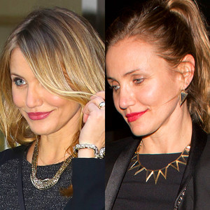 Cameron Diaz Goes Brunette—See the Star's New Hair Color ...