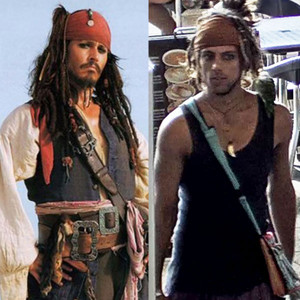 Johnny Depp, Jack Sparrow, Look-alike