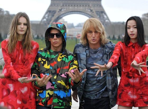 Owen Wilson, Ben Stiller, Paris Fashion Week, Zoolander