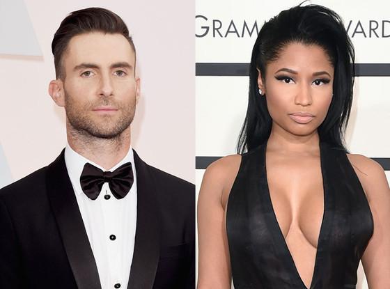 Adam Levine, Nicki Minaj