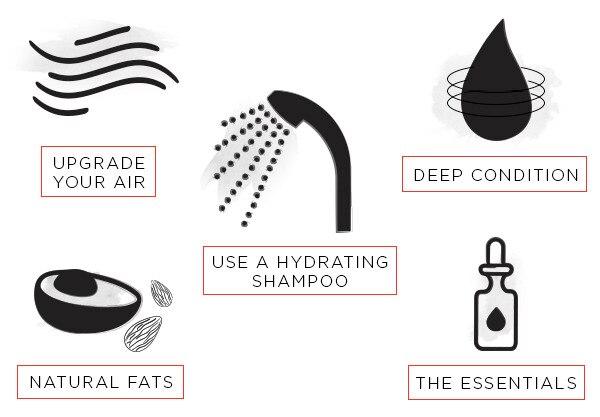 ESC, Tips for Brittle Hair